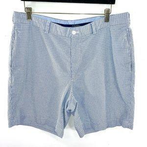 BROOKS BROTHERS Plaid Seersucker 9 inch Shorts
